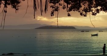 Proteção Ambiental Praia de Sambaqui Pôr do Sol